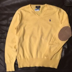Ralph Lauren polo sweater boys M 10/12